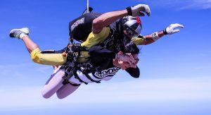 Skydiving in Slovenia